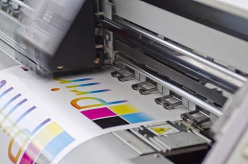 Digitaldrucker im Einsatz bei der Druckerei Elmshorn
